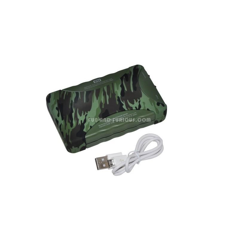batterie de secours camouflage