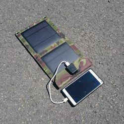 شاحن الطاقة الشمسية طوى 7 W