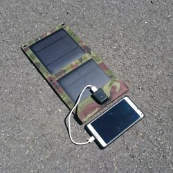 Foldable solar charger 7 W