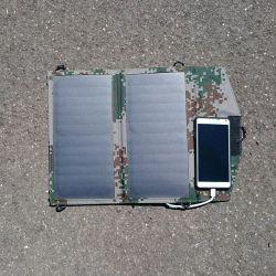Carregador solar dobrável 10W