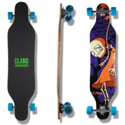 "Longboard ""Clans"" - Drop Through"