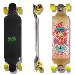 """Longboard """"Clans"""" - Drop Deck"""