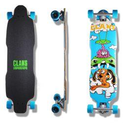 "Longboard ""Clans 35"" - Drop Through"